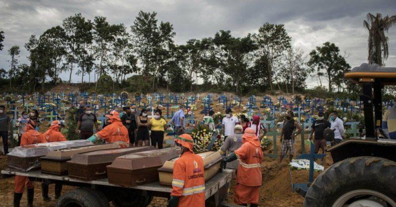Общество: Коронавирус в мире: рекордное число смертей в странах Латинской Америки
