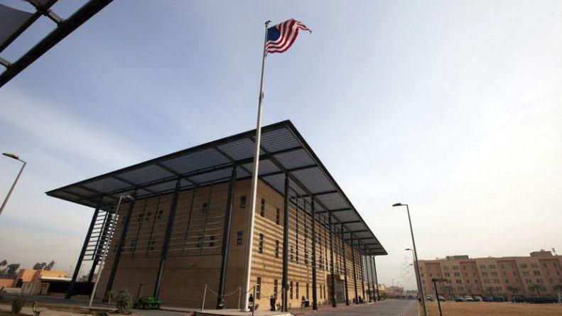 Общество: В районе американского посольства в Багдаде упала ракеты