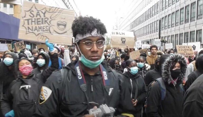 Общество: Британский репортер подметил сходство беспорядков в Лондоне с Евромайданом