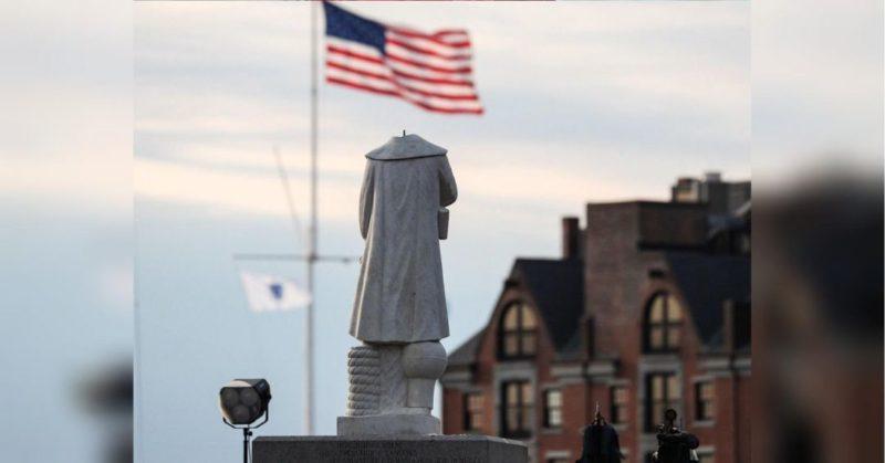Общество: Трамп указом запретил портить памятники в США и пообещал вандалам длительные сроки
