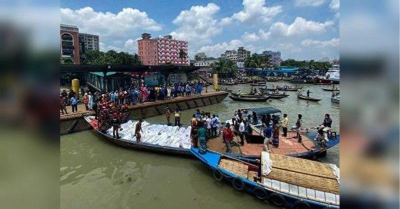 Общество: В Бангладеш столкнулись лодка и паром, погибли более 30 людей
