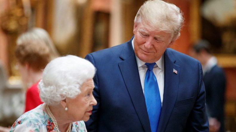 Общество: Трамп поздравил королеву Британии Елизавету II с днём рождения