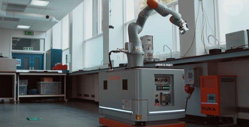 Общество: В Британии разработали робота-химика (Видео) | Новости. Новости дня. Новости Украины 09 июля 2020 - ТЕЛЕГРАФ