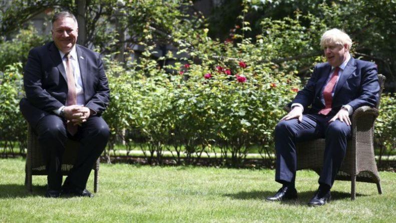 Общество: Лондон: переговоры Майка Помпео с Борисом Джонсоном