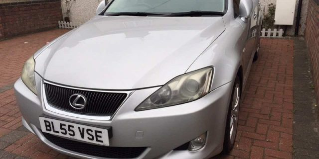 Продам Lexus IS220D, 2006 г.в. (55reg)